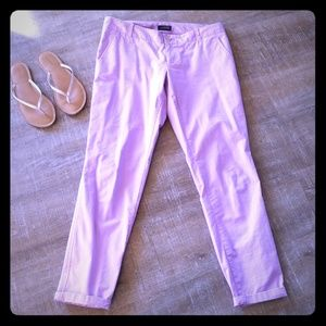 Purple ankle pants The Limited